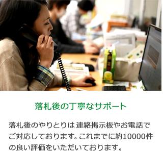 【落札後の丁寧なサポート】落札後のやりとりは取引メッセージやお電話でご対応しております。これまでに約10000件の良い評価をいただいております。